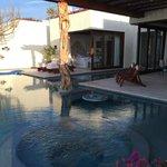 luxury beachfront villa!