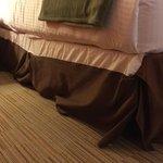 Messy bedding!