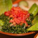 Tabouleh with just the right taste