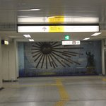 At Hatagaya Station. When you see the sun-symbol, you are 3 min close to the hotel. Elevator 2 f