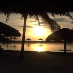 Stunning Sunrise taken from the Palapa