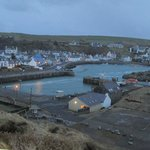 The Harbour at Portpatrick from the hotel