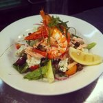 Tiger Prawn Nicoise salad