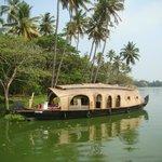 houseboat dans les backwaters
