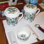 Lovely bone china in the room