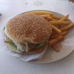 Hamburger au poisson à 99 pesos - 21 février 2014.