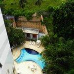 La piscina vista desde nuestra habitación