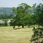 Views to Prestbury Village