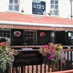 Dining al fresco at Eddies