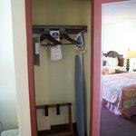 Room 302 Wardrobe, Iron, Board, Safe