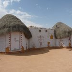 les huttes