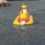 Le sous-marin (on dirait un jouet)