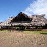 Restaurant vu de la plage