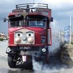 Elizabeth the steam bus