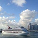 Pic taken from my cruise ship toward miami port