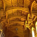 The teak roof