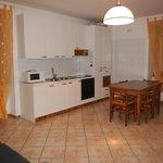 Soggiorno/cucina appartamento trilocale Standard