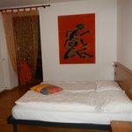 Camera da letto appartamento trilocale Standard