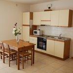 Soggiorno/cucina appartamento bilocale Dependance