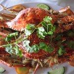 broiled crabs (cua ran muoi)