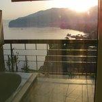 Sunrise view from Junior Suite