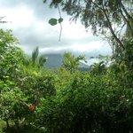 vista del vulcano Arenal