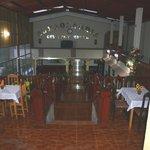 terraced dining room