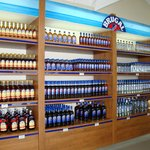 Attractive selection of rum
