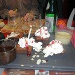 dessert pour un anniversaire