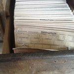 prisoners' registration cards