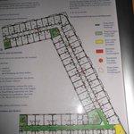 plan II piętra - moja kabina zaznczona jest kolorem żółtym
