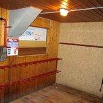 large ski drying room