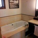 baignoire chambre double supérieure