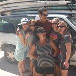 Mauricio with the girls