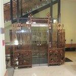 the art nouveau lift