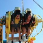 Gyro Loop----The U.Ks only interactive spinning thrill ride!