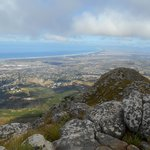 View of Somerset West and False Bay