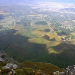 Helderberg Nature Reserve seen from the top of West Peak