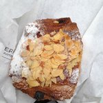 A Chocolate Almond Croissant