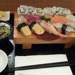 Mittagsmenu Nr. 3 mit Maki