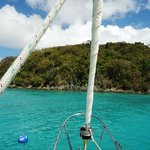 Beautiful waters of the Virgin Islands!