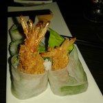Maki slim crevette tempura