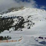 Near Obereggen snow park