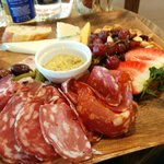 Cheese and Salumi plate