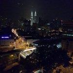 Petronas view at night