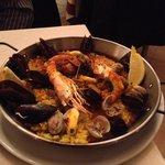 Paella pescados