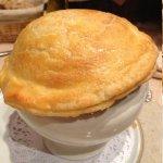 Montgolfière à la truffe et foie gras poêlé