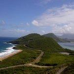 Atlantic and Caribbean meet in St Kitts