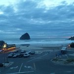 Pelican Pub and Haystack Rock
