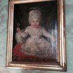 ritratto di bimba del 1700